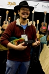 Mike DaSilva and his fish uke